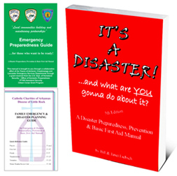 customizable disaster preparedness and first aid books
