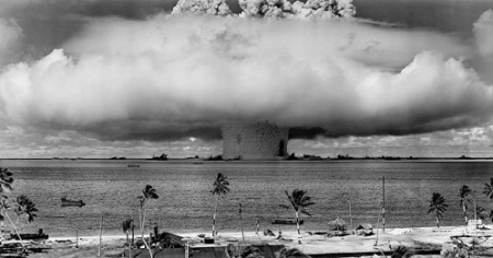 nuclear weapon test Baker explosion