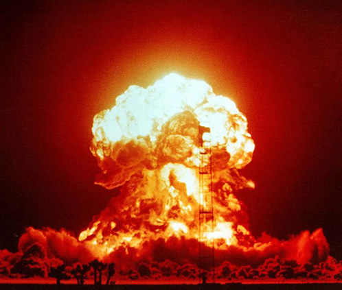 nuclear test Badger of Operation Upshot-Knothole