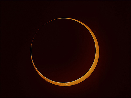 ring of fire eclipse 2013 credit Coca-Cola Space Science Center Columbus State University