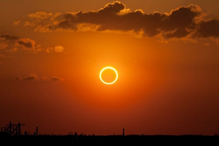 ring of fire solar eclipse 2012