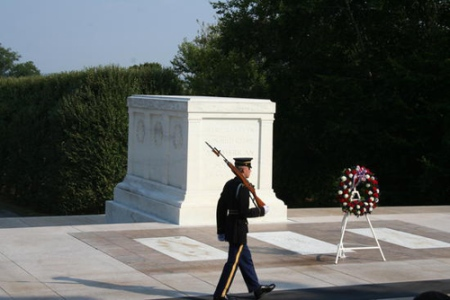 memorial day Tomb of the Unknowns