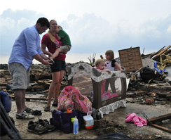 Moore Oklahoma tornado aftermath Photo: Nick Oxford-NYT