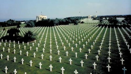 Honoring D-Day Normandy Cemetery