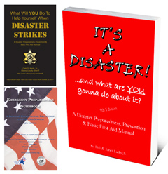 customizable disaster preparedness and first aid manual by Fedhealth