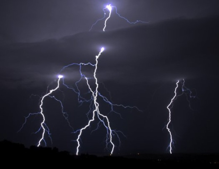lightning antimatter beams popsci