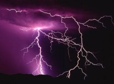 lightning photo by NASA