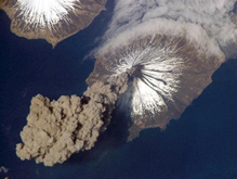 cleveland alaska volcano by nasa