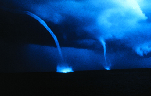 waterspout bahamas photo by NOAA