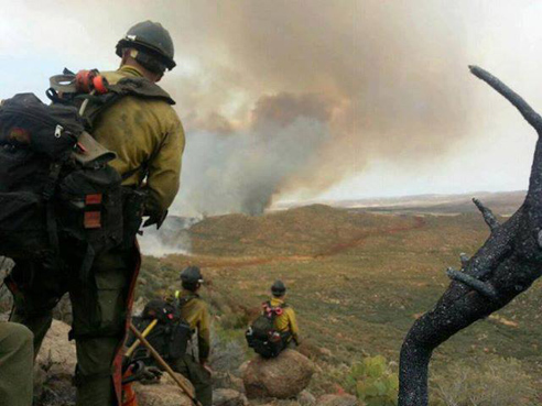 yarnell hill fire photo by andrew ashcraft