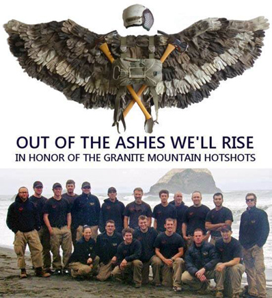 arizona 19 out of the ashes National Firefighters Endowment