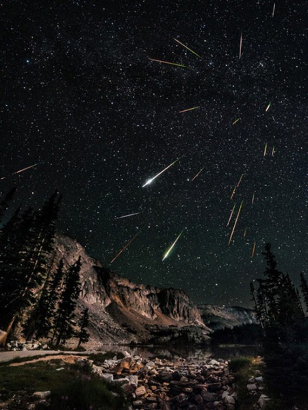 perseid meteor shower david kingham photography
