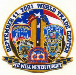 ground zero 9-11 patch