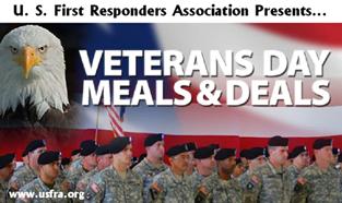 Veterans Meals and Deals 2013