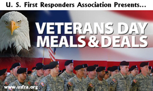 Veterans Meals and Deals 2013