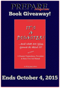 preparemag disaster book giveaway liebsch